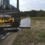 Driveway Cut in Sunman Indiana
