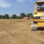 Yard Graded in Guilford, Indiana 47025